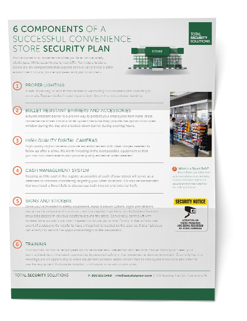 Convenience Store Security Plan Preview