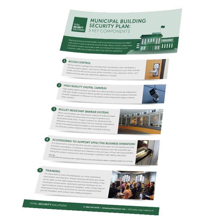 TSS Municipal Building Security Plan