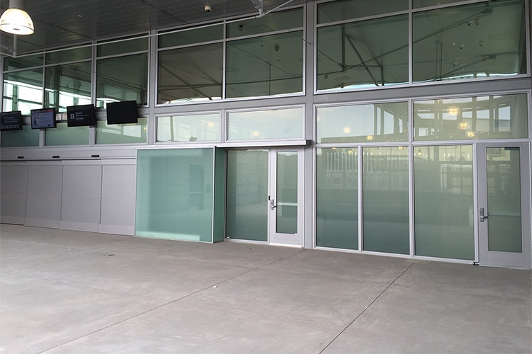 Bullet Resistant Barrier for a Government Facility