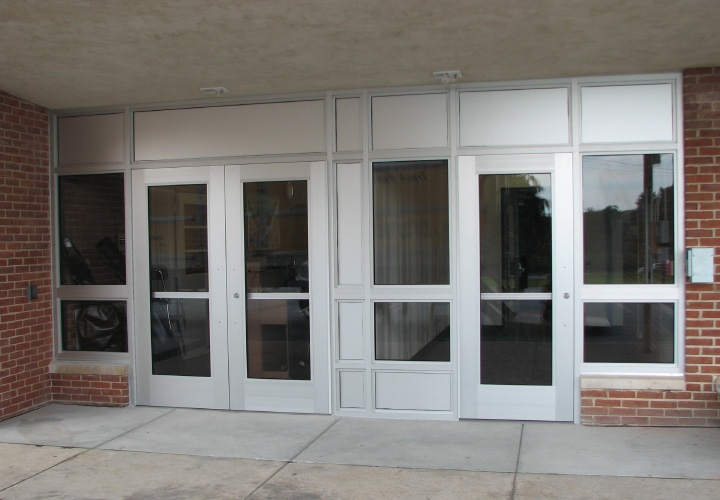 Bullet Resistant School Entryway