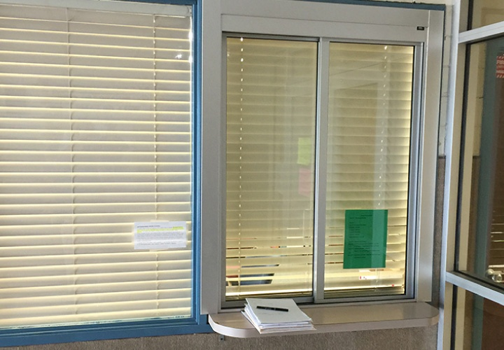 Bullet Resistant School Office Window
